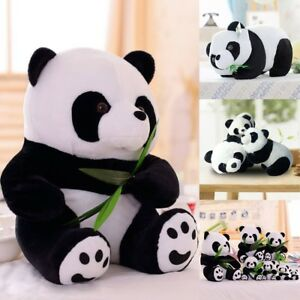 Cute-Standing-PANDA-BEAR-Stuffed-Animal-Plush-Soft-Toy-Pillow-Doll-Cushion-Gift