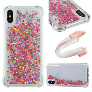 Soft Hybrid Glitter Quicksand Painting Case Cover For Samsung iPhone SONY Phone