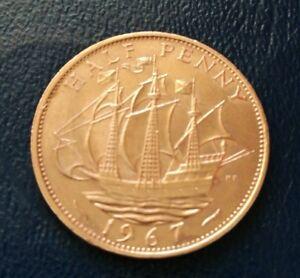 1967 Half Penny  nice condition - Swindon, United Kingdom - 1967 Half Penny  nice condition - Swindon, United Kingdom