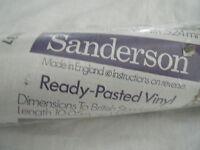 C4 Wallpaper Sanderson X3 & 1 Roll Opened Vintage W30