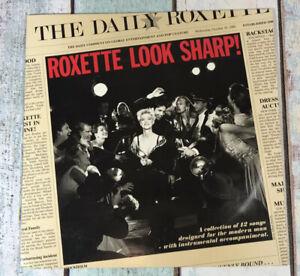 Roxette-Look-Sharp-Marie-Fredriksson-1988-Vinyl-LP-inc-The-Look-1st-PRESS