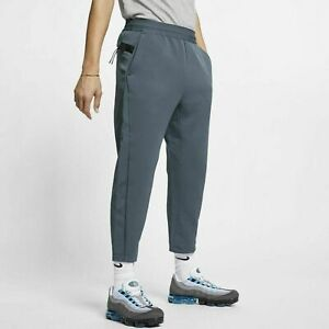 ce02802d0 Details about Nike Sportswear Tech Pack Cropped Woven Men's Pants Size  Large Blue AR1562-427