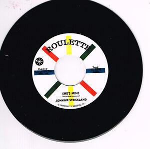JOHNNIE-STRICKLAND-SHE-039-S-MINE-YOU-039-VE-GOT-WHAT-IT-TAKES-ROCKABILLY-JIVER