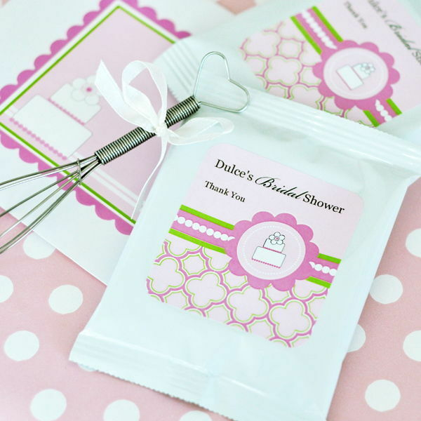 24 Personalized Rosa Cake Theme Lemonade Mix Pouches Wedding Favors Favors Favors 5a8e25