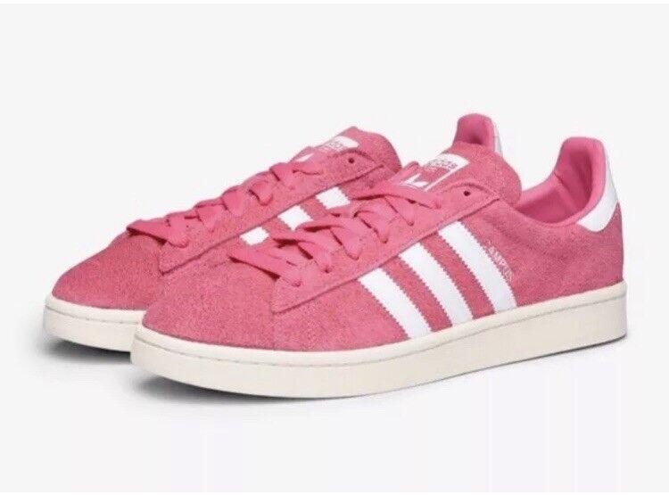 Adidas Originals Campus zapatillas hombres comodo formadores zapatos bz0069 Rosa comodo hombres 73f0b4