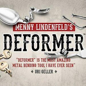 Deformer-by-Menny-Lindenfeld-Gimmick-Mentalism-Magic-Tricks-Bending-Illusions