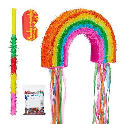 Pinata Stab Pinata Set Geburtstag Zahl 8 3 tlg Augenmaske Piniata Piñata