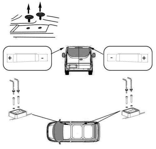 Dachträger Aurilis Pro für Ford Transit Custom ab 2012 3 Stangen 100kg