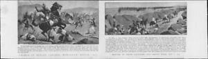 1901Antique-Print-INDIA-Dehoura-Begal-Lancers-Major-Cavagnari-Yakoob-Khan-78