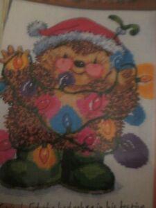 Un Peu Festive Sparkle 'country Companions Cross Stitch Chart Only-afficher Le Titre D'origine Ekpwhstd-10114545-920072511