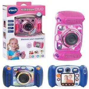 Appareils photo numériques Vtech Kidizoom Duo Kids en bleu et rose ou appareil photo