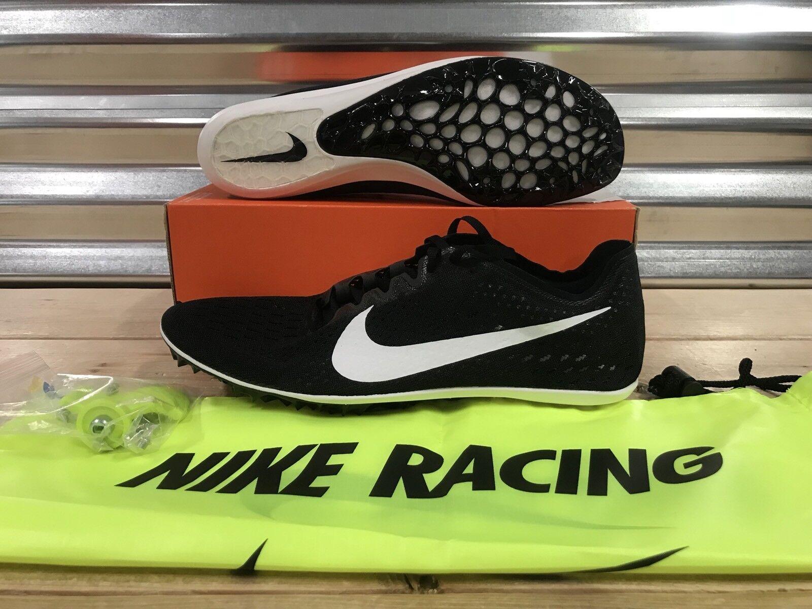 Nike Victory Elite 2 Track Running Spikes Black White Oreo SZ 10 ( 835998-017 )