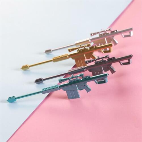 Creative Sniple Rifle Black Ink Gel Pen Gun Toy Exam Sign Pens Promotional Gift