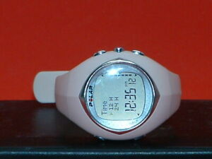 Pre-Owned-Women-s-Pink-Polar-F6-Digital-Watch-Watch-Only