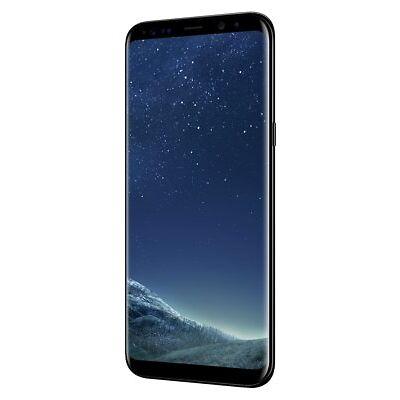 SIM Free Samsung Galaxy S8 Plus 6.2 Inch 64GB 12MP Mobile Phone - Black