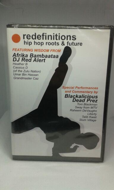 Redefinitions: Hip Hop Roots and Future DJ Red Alert & Afrika Bambaataa cert E