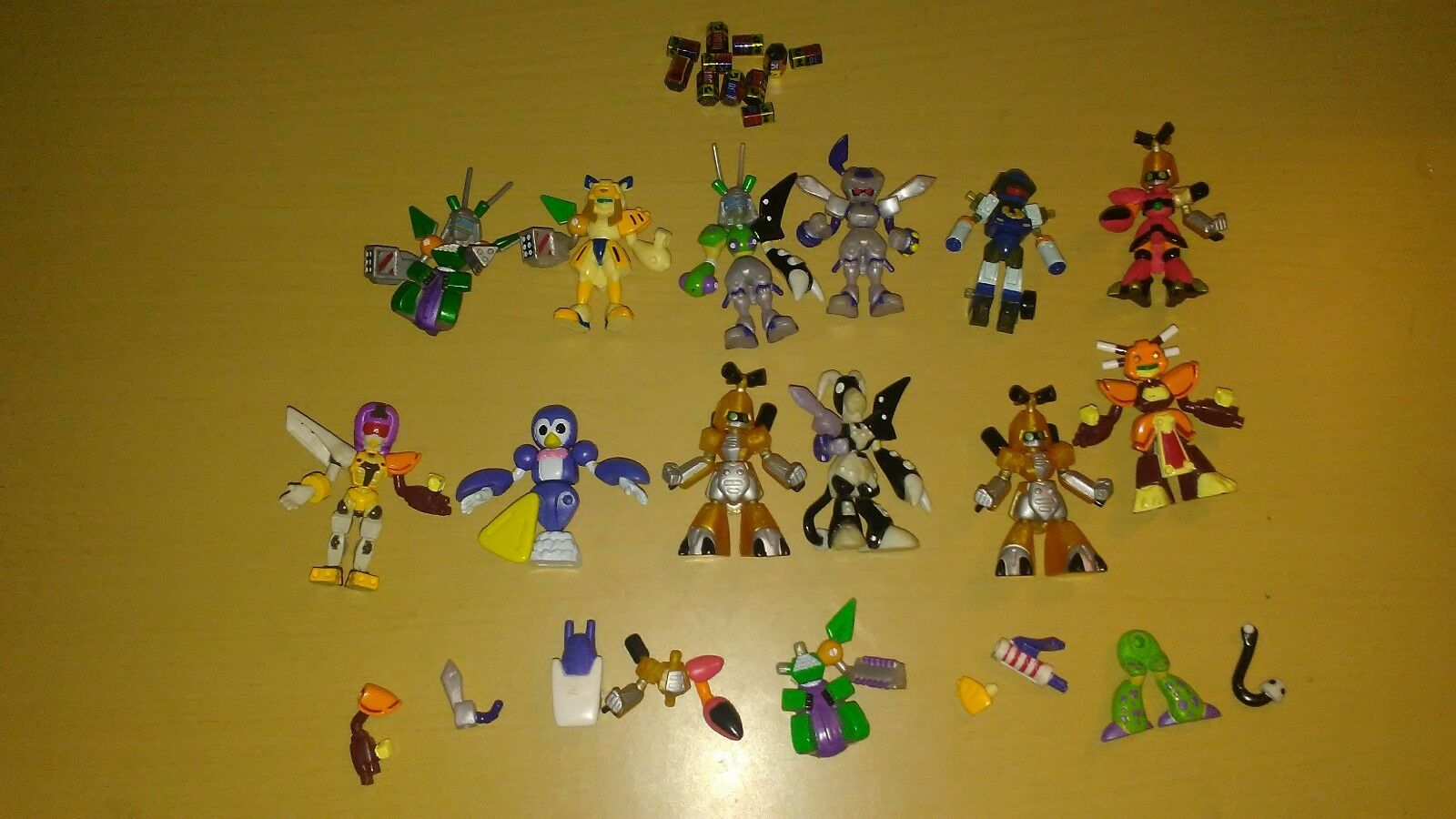 Lot Vintage Medabots Takara Hasbro Metabots Anime/toys/collectibles Robots Mini