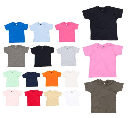 Baby T-Shirt Jungen Mädchen Kleinkind Shirt 3-24 Monate