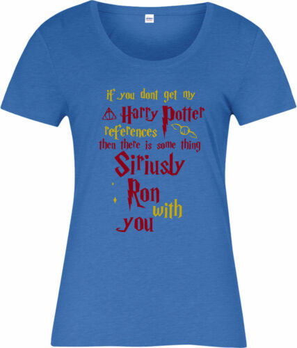 Harry Potter Ladies T-Shirt,Hermione References Spoof,T-Shirt