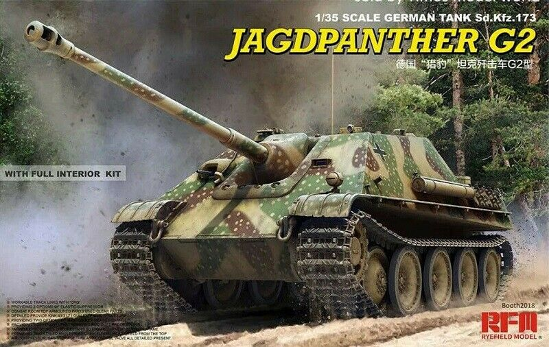 RYE FIELD modello GERuomo JAGDPANTHER G2 FULL INTERIOR 135 RM5022