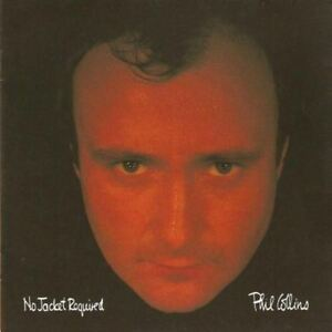 PHIL-COLLINS-no-jacket-required-CD-album-1985-synth-pop-pop-rock-very-good