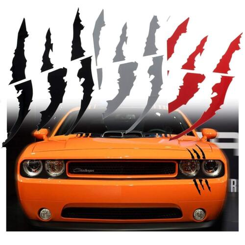 HEADLIGHT CLAW SCRATCH MARK Decal UNIVERSAL Mustang Camaro Charger Durango