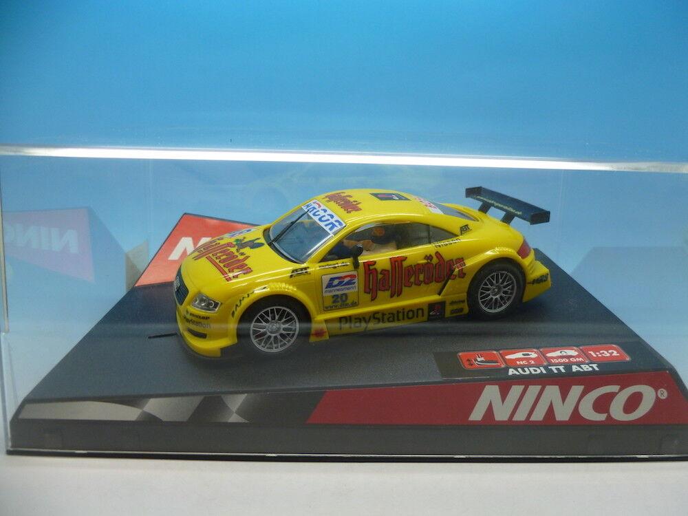 Ninco 50246 Audi TT-R ABT Ns 20 yellow, mint unused