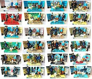 Details about The Adventures Of TINTIN Comic Book ACTION FIGURES on Custom  Display Diorama