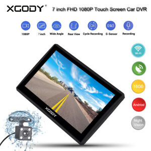 XGODY-7-034-FHD-1080P-GPS-Dual-Lens-Car-DVR-Dashcam-Rearview-Camera-G-Sensor-USB-SD