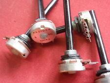 POTI 0-100K OHM LINEAR regelbarer WIDERSTAND m.6mm ACHSE   5x  24493