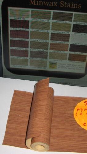 10/' Strip Roll of Thin Simulated Wood Grain Walnut Veneer Paper//Vinyl Composite