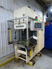 75 Ton Neff C Frame Hydraulic Press Stroke 10 Inches Daylight 24 1997 Year