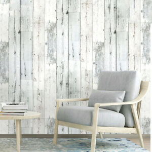 6m-Vinyl-Rustic-Self-Adhesive-Wood-Plank-Wallpaper-Wall-Stickers-Peel-and-Stick