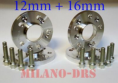 COPPIA DISTANZIALI DA 16 mm PROMEX MADE IN ITALY X MERCEDES CLA 45 AMG 245G