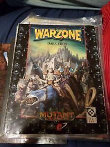 Target-Warzone-Worlds-at-War-Dark-Eden-SC-VG-Mutant-Chronicles-1997-NICE