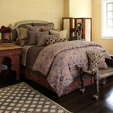 BRAND NEW UPSTAIRS by DRASFIELD & ROSS ANTALYA DUVET COVER MULTI KING MSRP$379