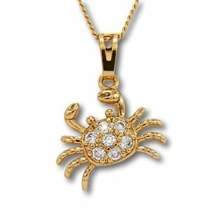 046e44ef3aa Cancer the Crab Necklace 18