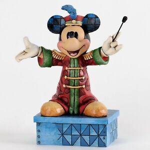 "DISNEY-Skulptu<wbr/>r - ""MICKEY - Band Leader Mickey"" - Jim Shore Figur 4033284 - NEU!"