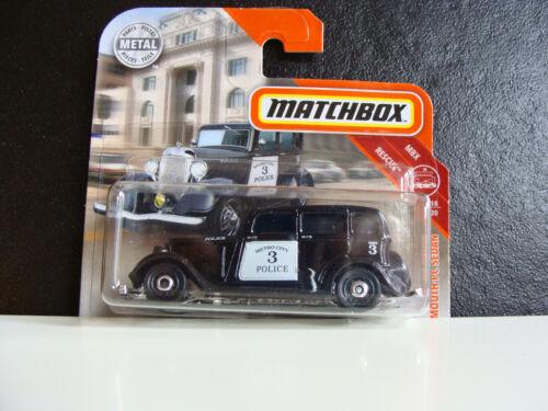 Matchbox /'33 Plymouth PC Sedan 18//20 45//100  Mattel 1:64 Neu