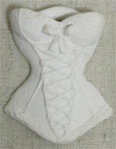 Plaster flower lace bustier