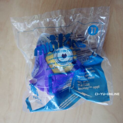 2015 McDonalds Happy Meal Despicable Me Minions Talking Toys US #11 Vampire
