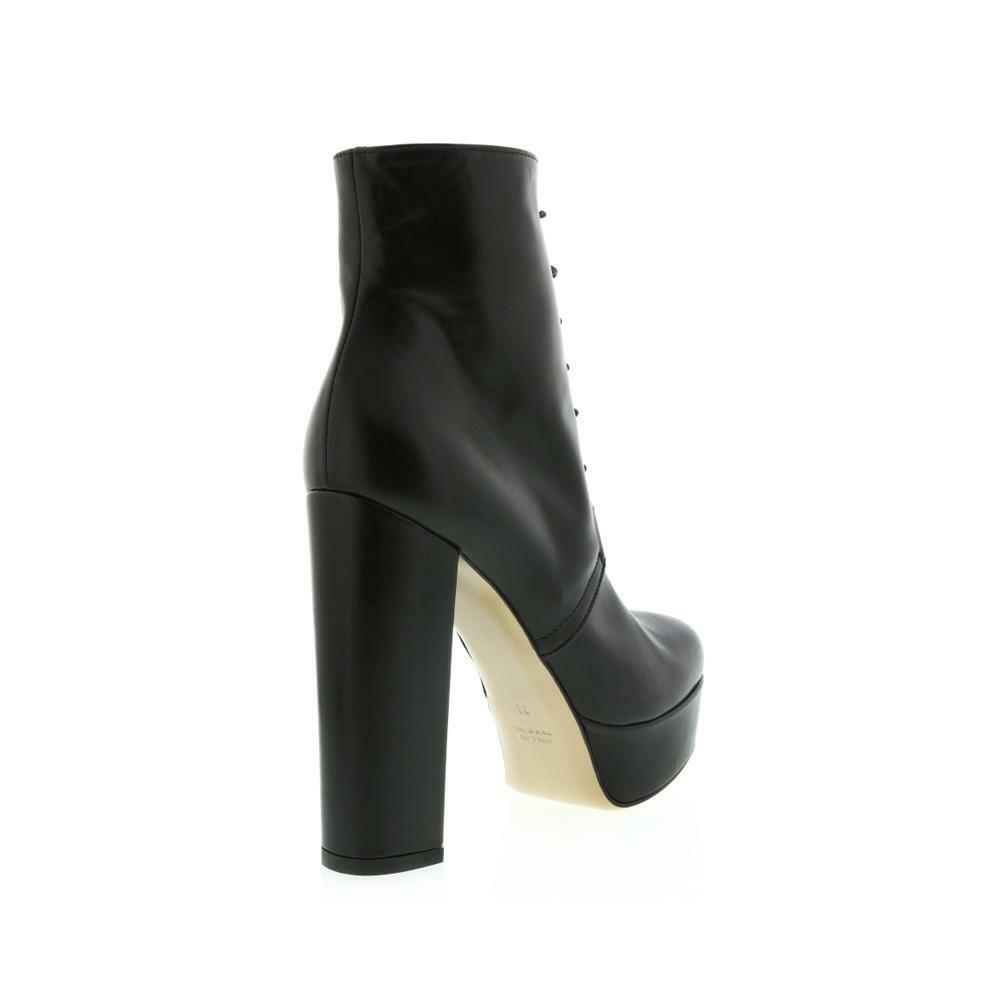 Gaimpaolo Viozzi Laceup Md Platform Stiefel