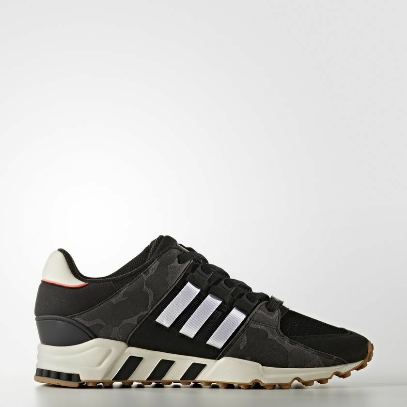 NEW MEN'S ADIDAS EQUIPMENT SUPPORT RF SHOES [BB1324] BLACK  OFF WHITE-CAMOFLAUGE