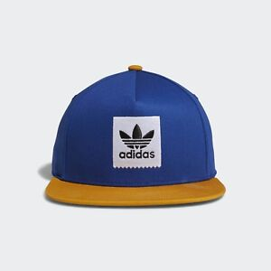 ADIDAS-SKATEBOARDING-2-TONE-SNAPBACK-CAP-ROYAL-YELLOW