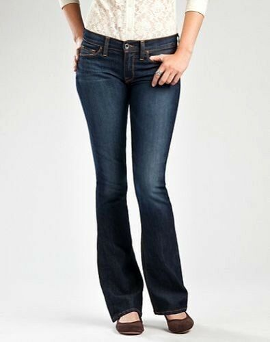 Lucky Brand Ankle Sofia Boot Cut Jeans Medium Wash Mid Rise Womens 10 / 30 NWT