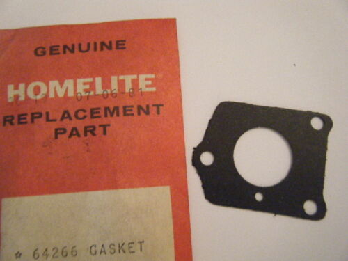 XL-101 XL-123 OR XL-113 XL-104 NEW HOMELITE REED VALVE GASKET  P//N 64266 FITS