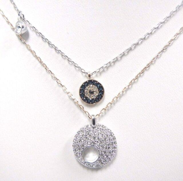 Swarovski Crystal Wishes Evil Eye Pendant Set Blue - 5272243 for ... 68c98eaffced
