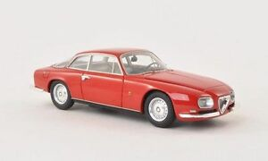 Alfa Romeo 2600 Sprint Zagato 1967 Rouge Modèle 1:43 Modèles Néo