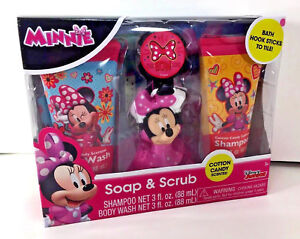 Disney Minnie Mouse Soap Scrub Kids, Minnie Mouse Bathroom Accessories