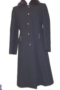 Collar Vintage Women Wool Size Original Brown American Mink Del Black 8 shire pqgaZE8w8